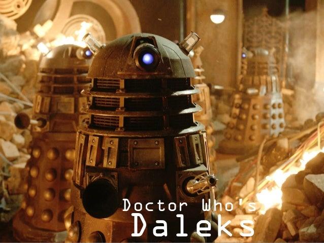 Cybermen Doctor Who's Daleks