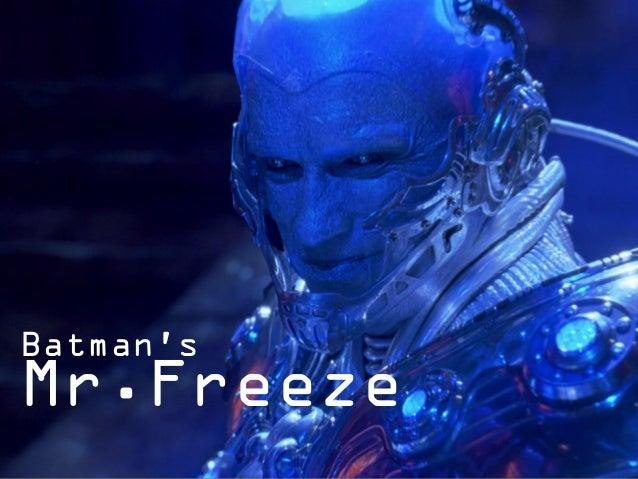 Batman's Mr.Freeze