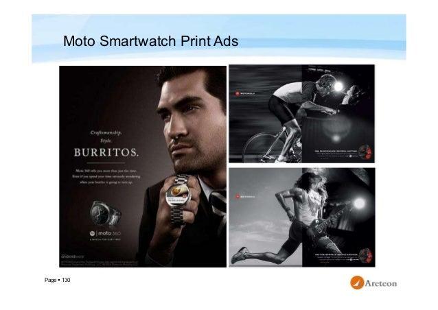 Page  130 Moto Smartwatch Print Ads