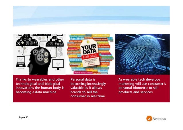 Page  25 Personal data is becoming increasingly valuable as it allows brands to sell the consumer in real time Thanks to ...