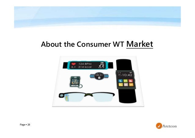 Page  28 About the Consumer WT Market