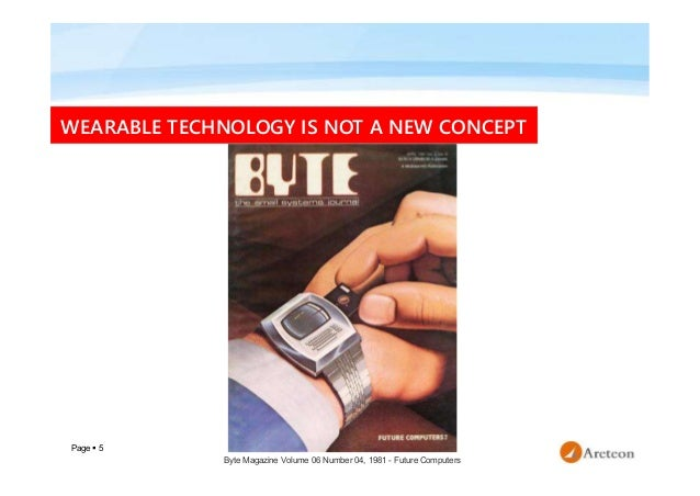 Page  5 WEARABLE TECHNOLOGY IS NOT A NEW CONCEPT Byte Magazine Volume 06 Number 04, 1981 - Future Computers