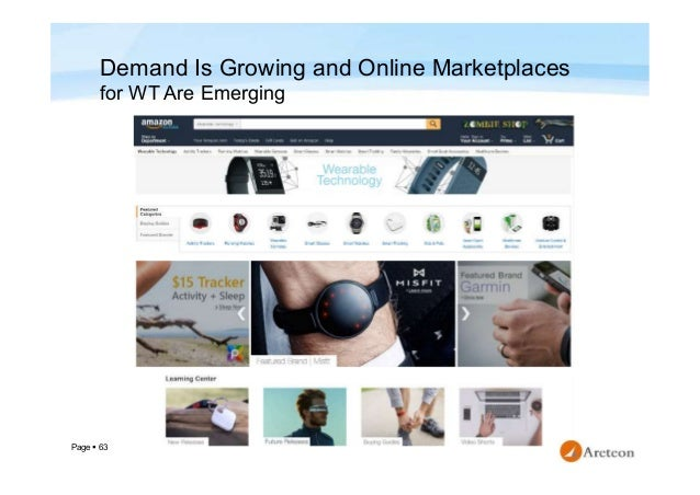 Page  63 Demand Is Growing and Online Marketplaces for WT Are Emerging