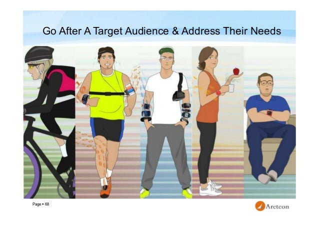 Page  68 Go After A Target Audience & Address Their Needs