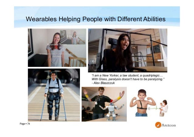 Page  74 Wearables Helping People with Different Abilities