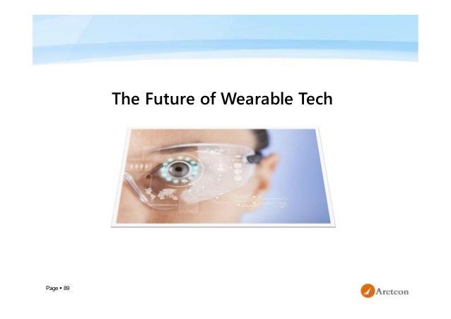 Page  89 The Future of Wearable Tech