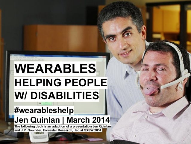 new technology to help the disabled