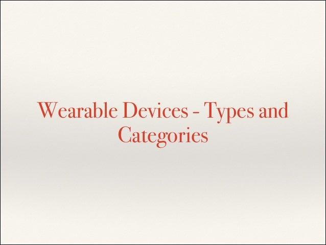 Wearable technology market Slide 2