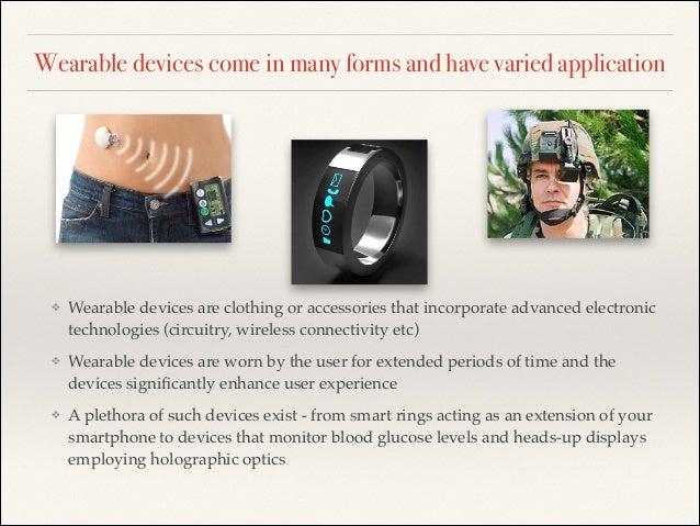 Wearable technology market Slide 3