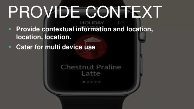 • Glanceable content that allows users to get snapshots of 'infotainment' BE INFORMATIVE OR ENTERTAINING