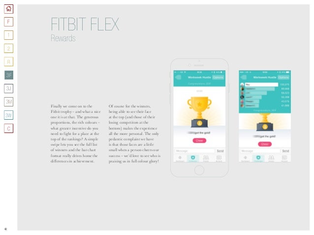 42 Finally we come on to the Fitbit trophy – and what a nice one it is at that. The generous proportions, the rich colours...