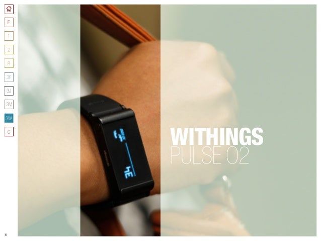 75 WITHINGS PULSE O2 F 3W 1 2 R C 3J 3M 3F