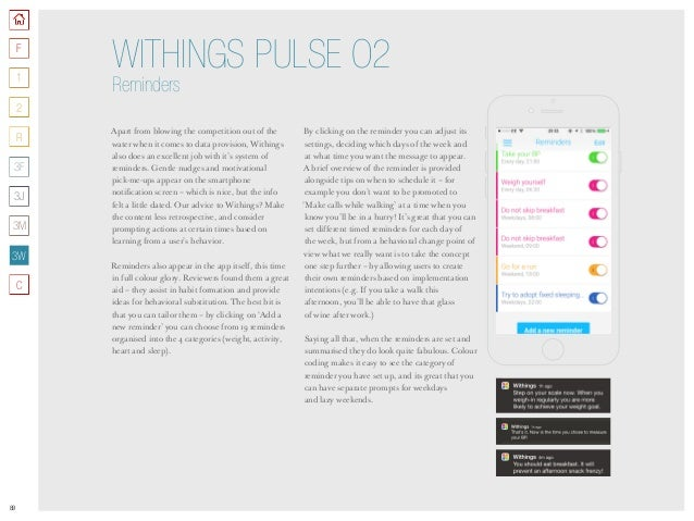 89 Apart from blowing the competition out of the water when it comes to data provision, Withings also does an excellent jo...