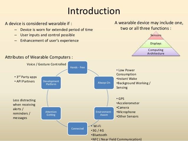 Wearable Technology Report Slide 3