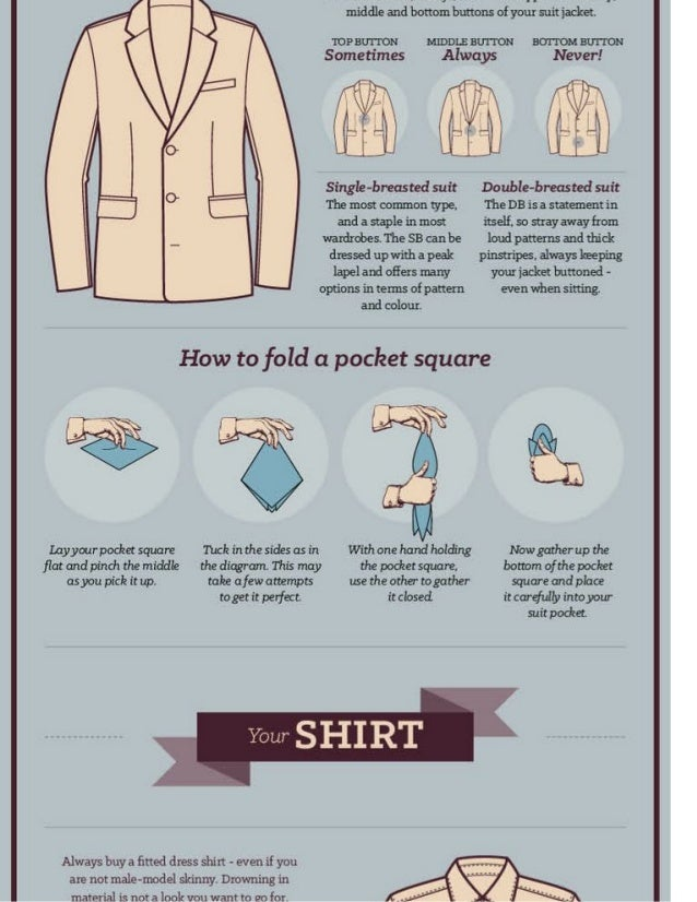 How To Wear A Suit Slide 2