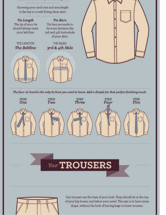 How To Wear A Suit Slide 3