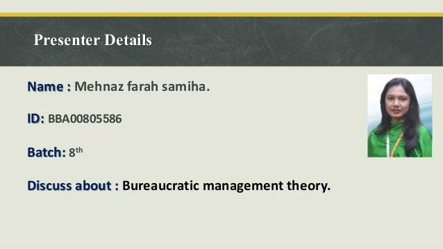 contribution of bureaucratic management Bureaucratic organization and educational change is a bureaucratic structure an nizational management.