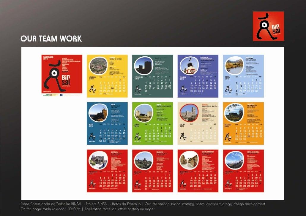 Calendar Ideas Corporate : We are one creative ideas group corporate presentation
