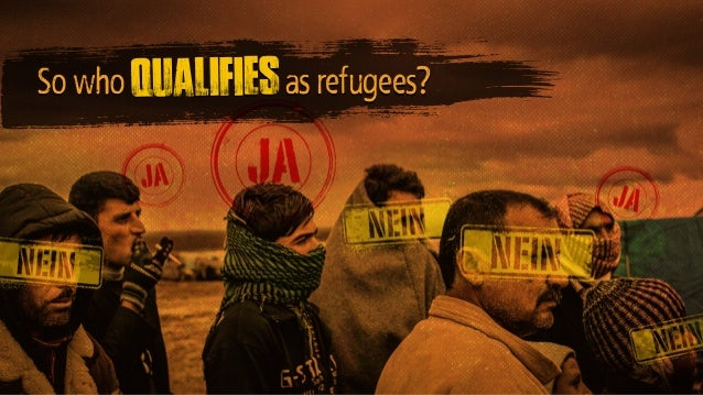 So who as refugees?qualifies