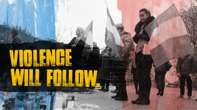 will follow. violence