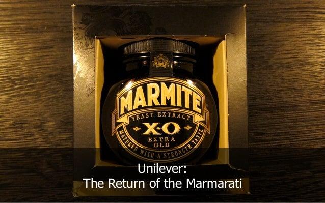 Unilever: The Return of the Marmarati