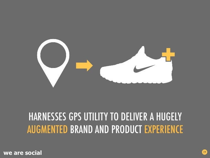 HARNESSES GPS UTILITY TO DELIVER A HUGELY       AUGMENTED BRAND AND PRODUCT EXPERIENCEwe are social                       ...