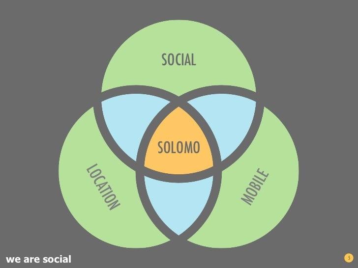 SOCIAL                SOLOMOwe are social            5