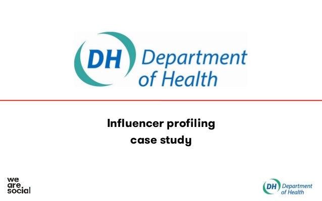 Influencer profiling case study