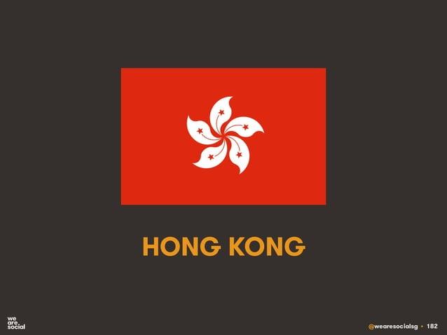 @wearesocialsg • 182 HONG KONG