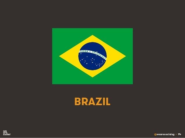 @wearesocialsg • 94 BRAZIL