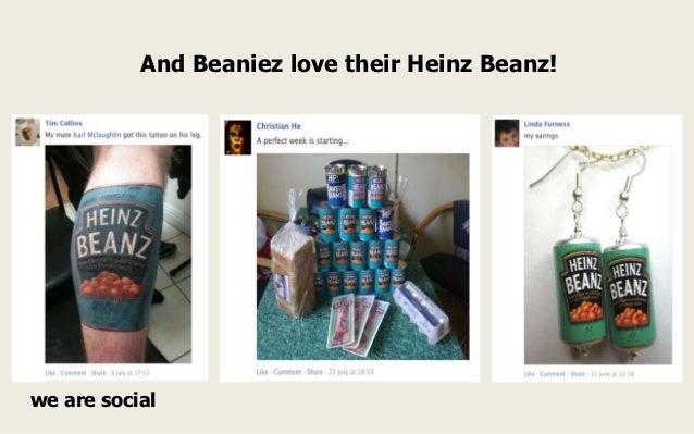 And Beaniez love their Heinz Beanz!we are social