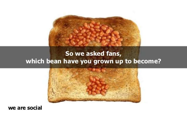 So we asked fans,      which bean have you grown up to become?we are social