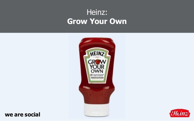 Heinz: Grow Your Own we are social