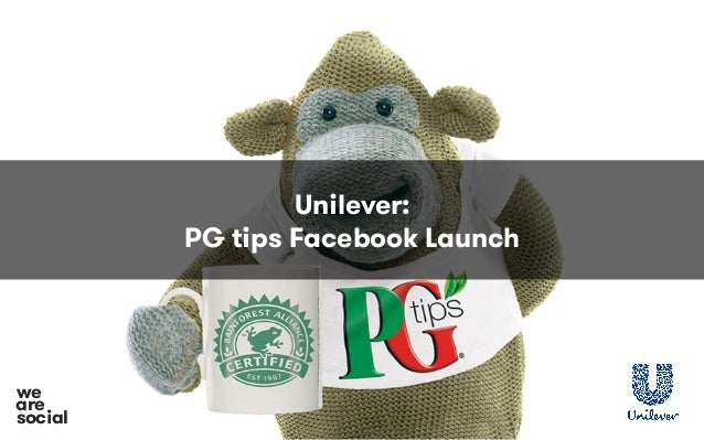 Unilever: PG tips Facebook Launch social we are