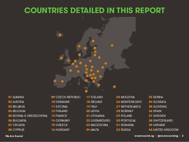 Social, Digital & Mobile in Europe Slide 2