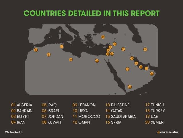 Social, Digital & Mobile in The Middle East, North Africa & Turkey Slide 2