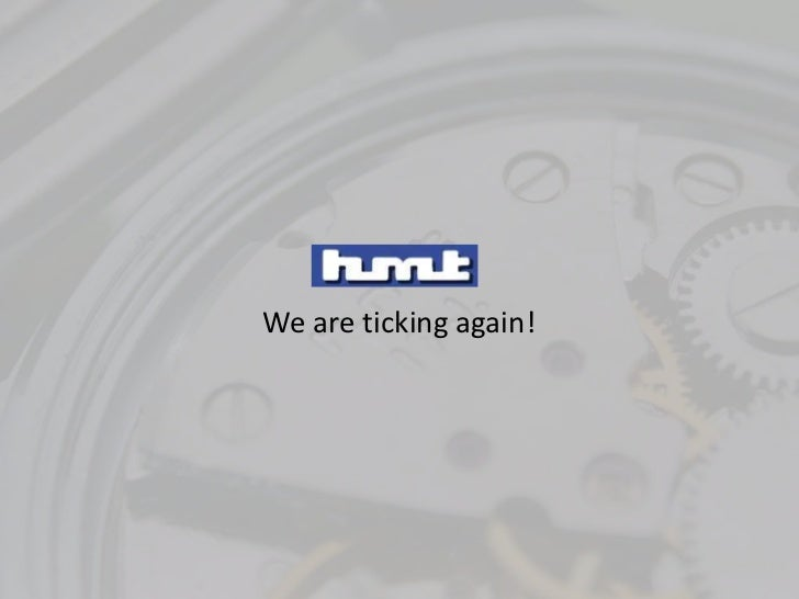 We are ticking again!<br />