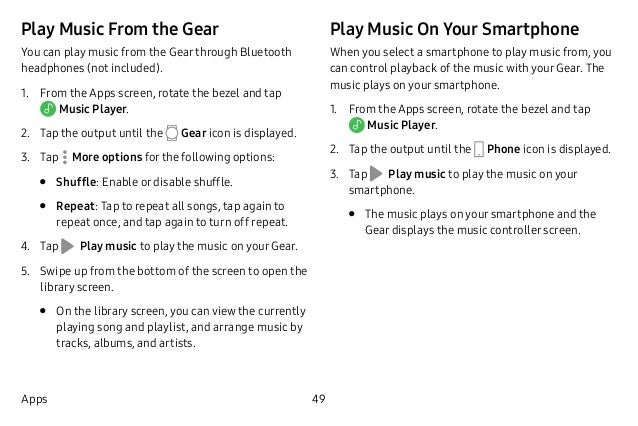 User Manual Samsung Gear Sport SM-R600