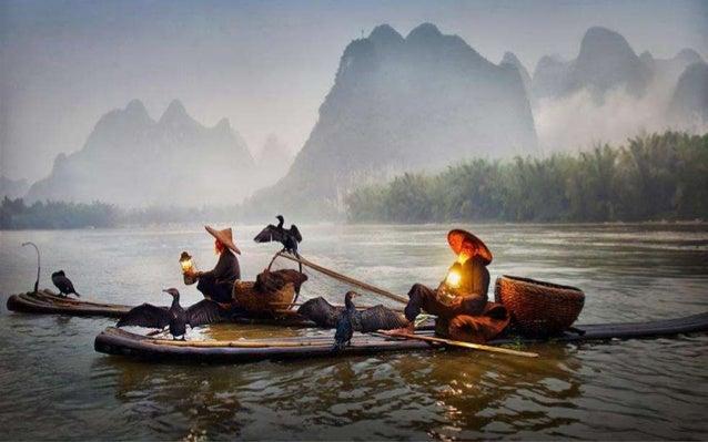 Li River in China, Feb. 27, 2014.
