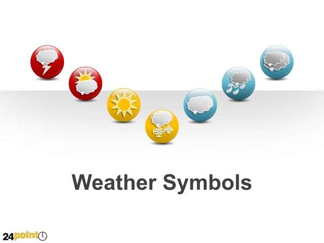 Weather Symbols - PowerPoint Illustrations