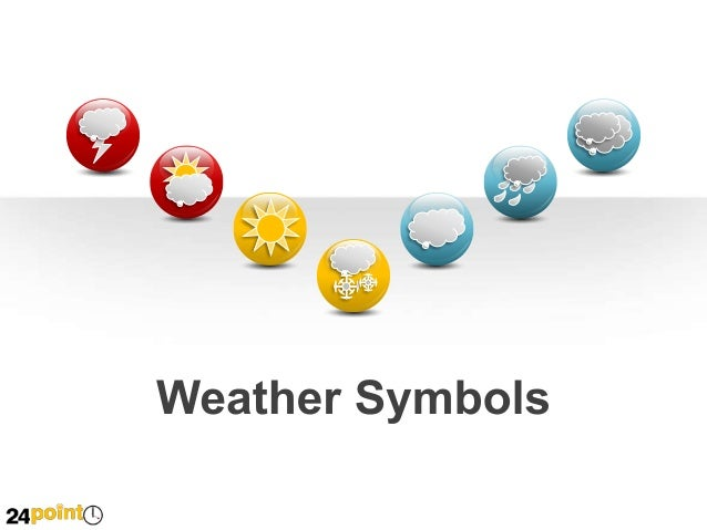 Weather or Meteorologist Icons Weather Icons