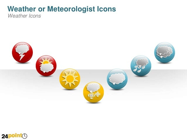 Weather Symbols - PowerPoint Illustrations Slide 2