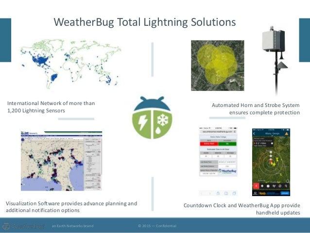 WeatherBug Total Lightning Solutions