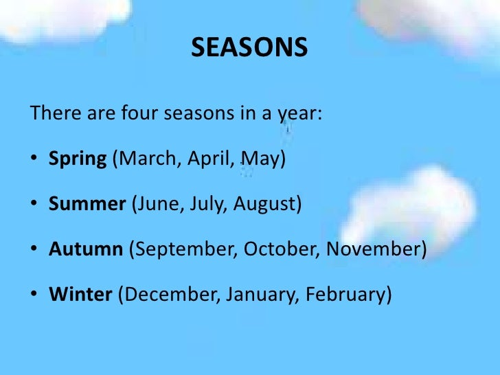 What Month Is Spring Season In Usa