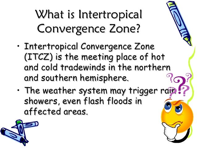 What is IntertropicalWhat is Intertropical Convergence Zone?Convergence Zone? • Intertropical Convergence ZoneIntertropica...