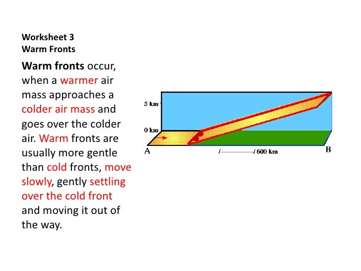 Weather Maps II - Practice Current Conditions and Forecast ...