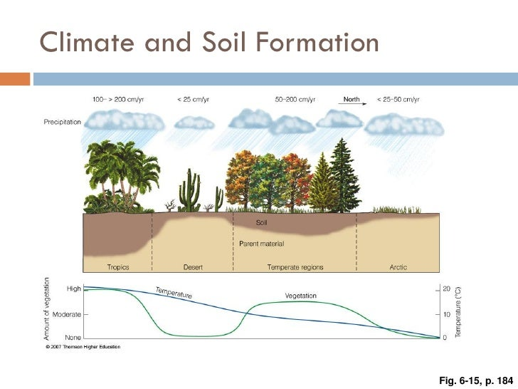 Weathering erosion and soil for Soil forming factors