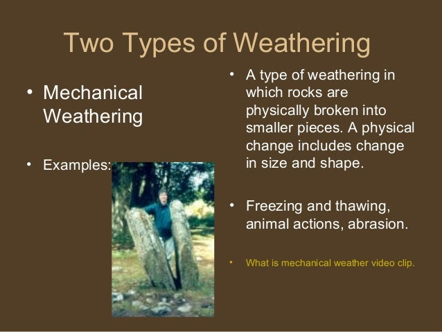 Six Types Weathering Related Keywords - Six Types ...