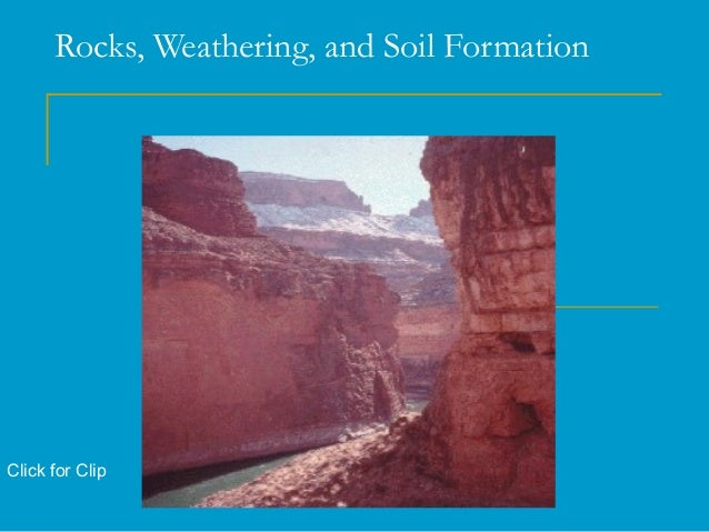 Weathering erosion and soils for Soil forming minerals