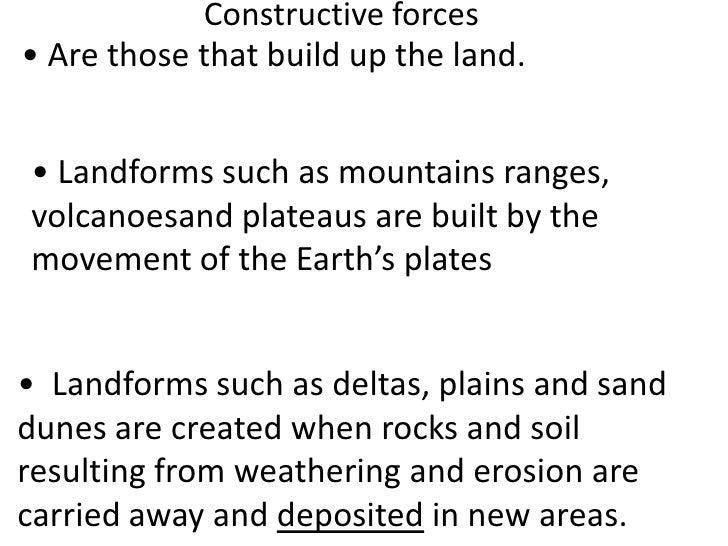Weathering, erosion, deposition (teacher background) Slide 3